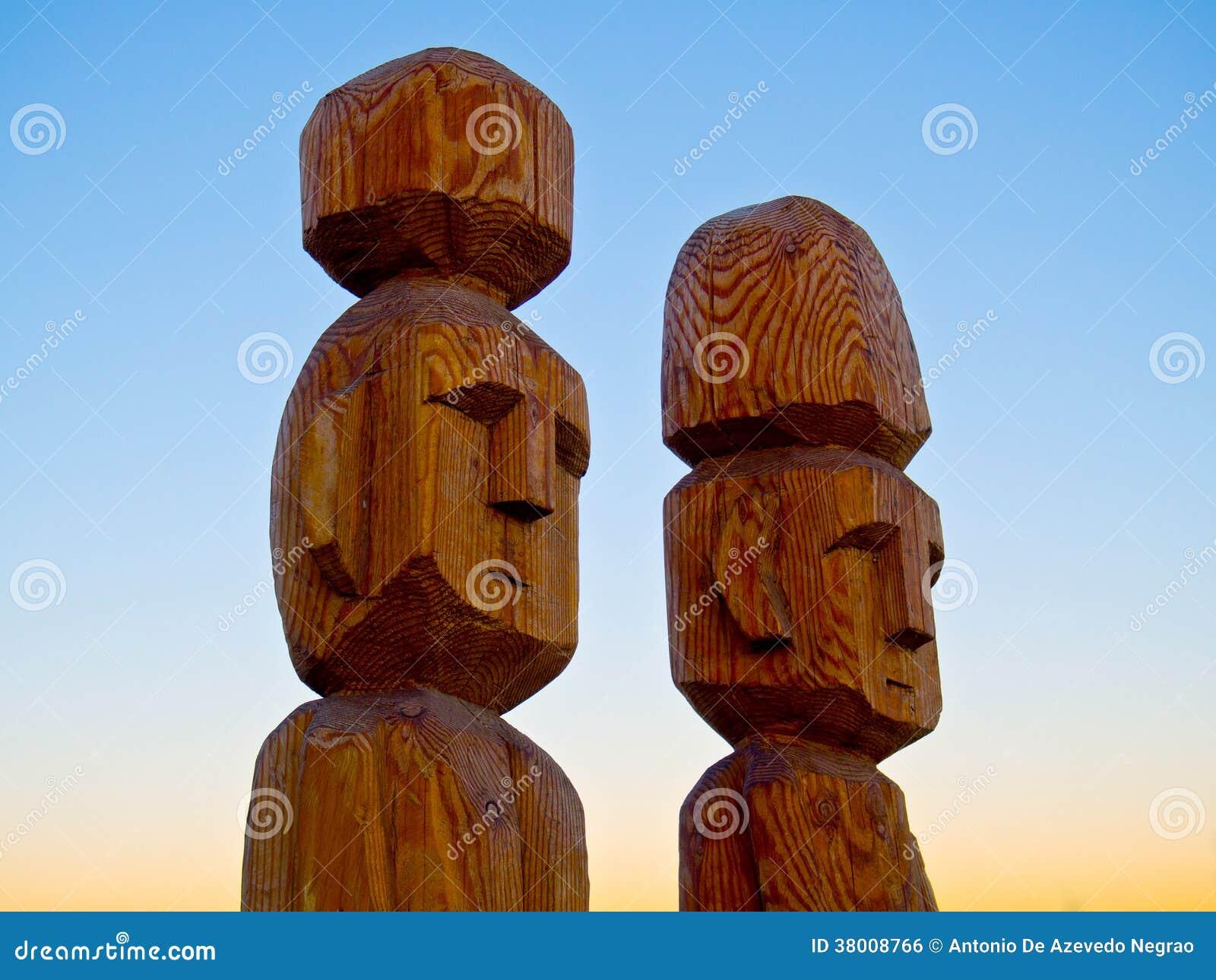 Sculpture indigène