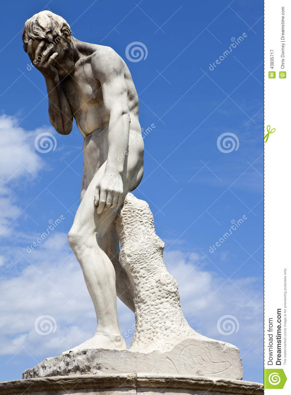 Sculpture in jardin des tuileries stock photo image - Sculpture jardin des tuileries ...