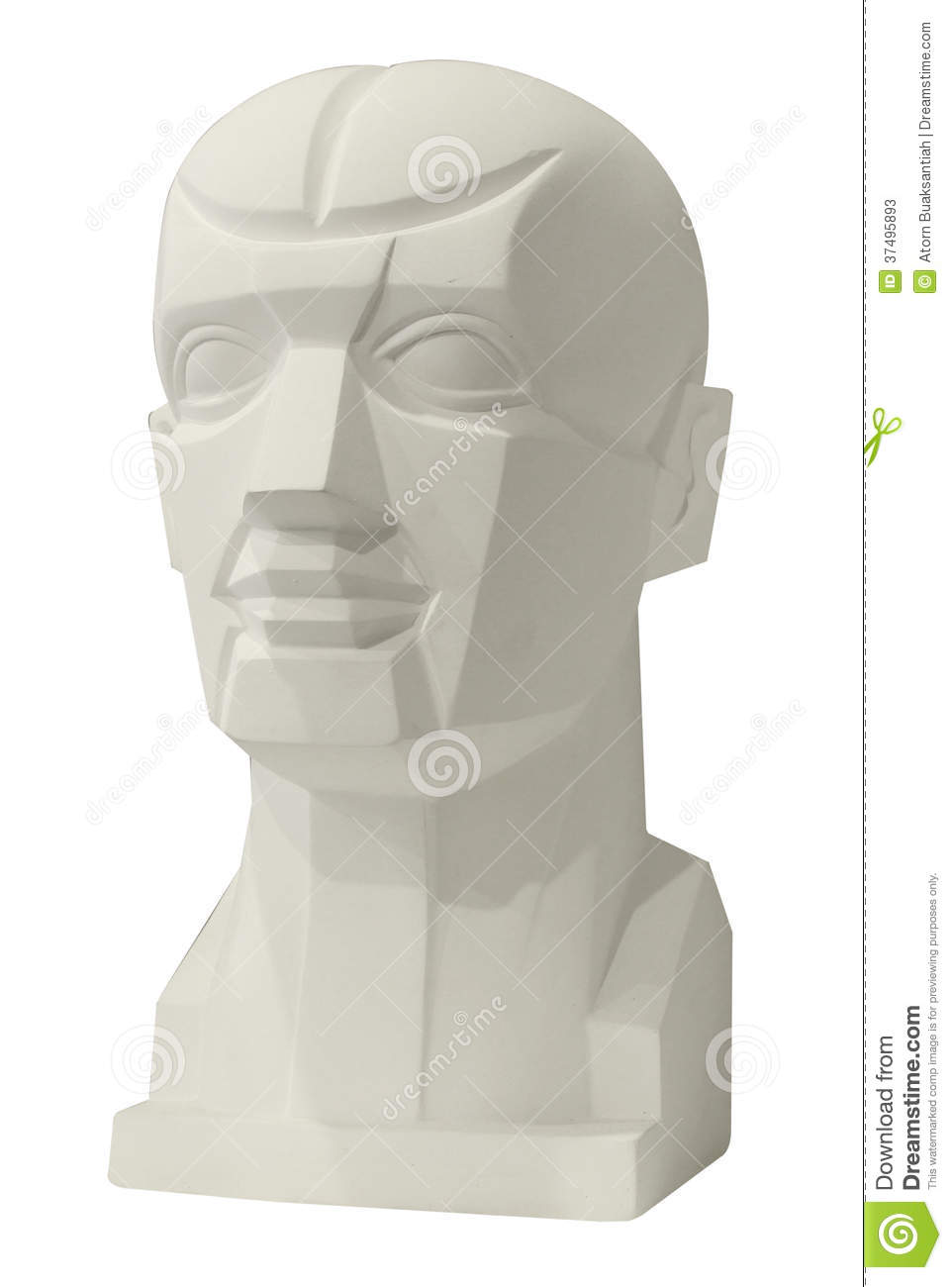 Sculptures Anatomy Head For Drawing Stock Image - Image of gallery ...