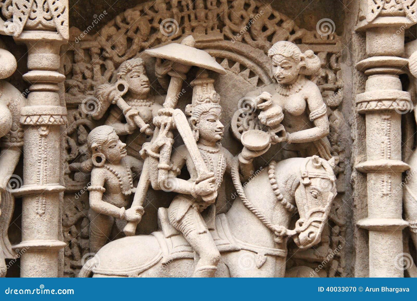 Sculptures en pierre d Inde médiévale