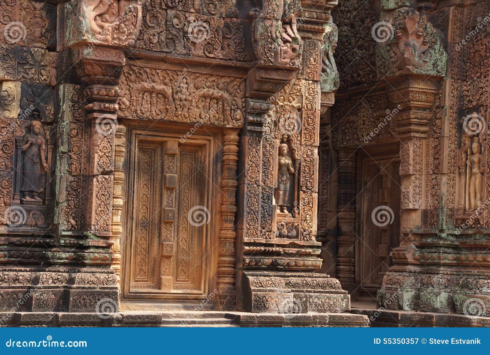 Sculture di Banteay Srei