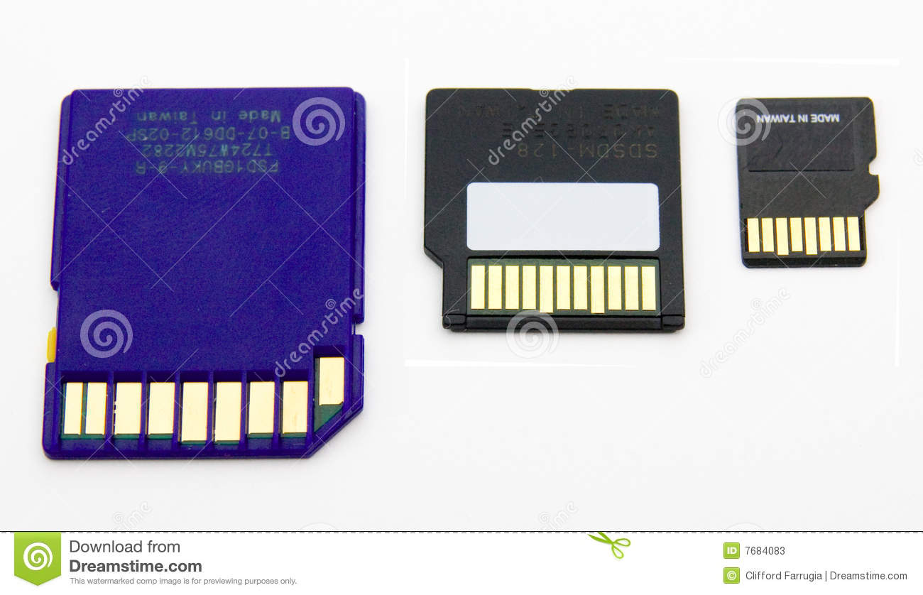 sd flash memory cards stock photos image 7684083. Black Bedroom Furniture Sets. Home Design Ideas