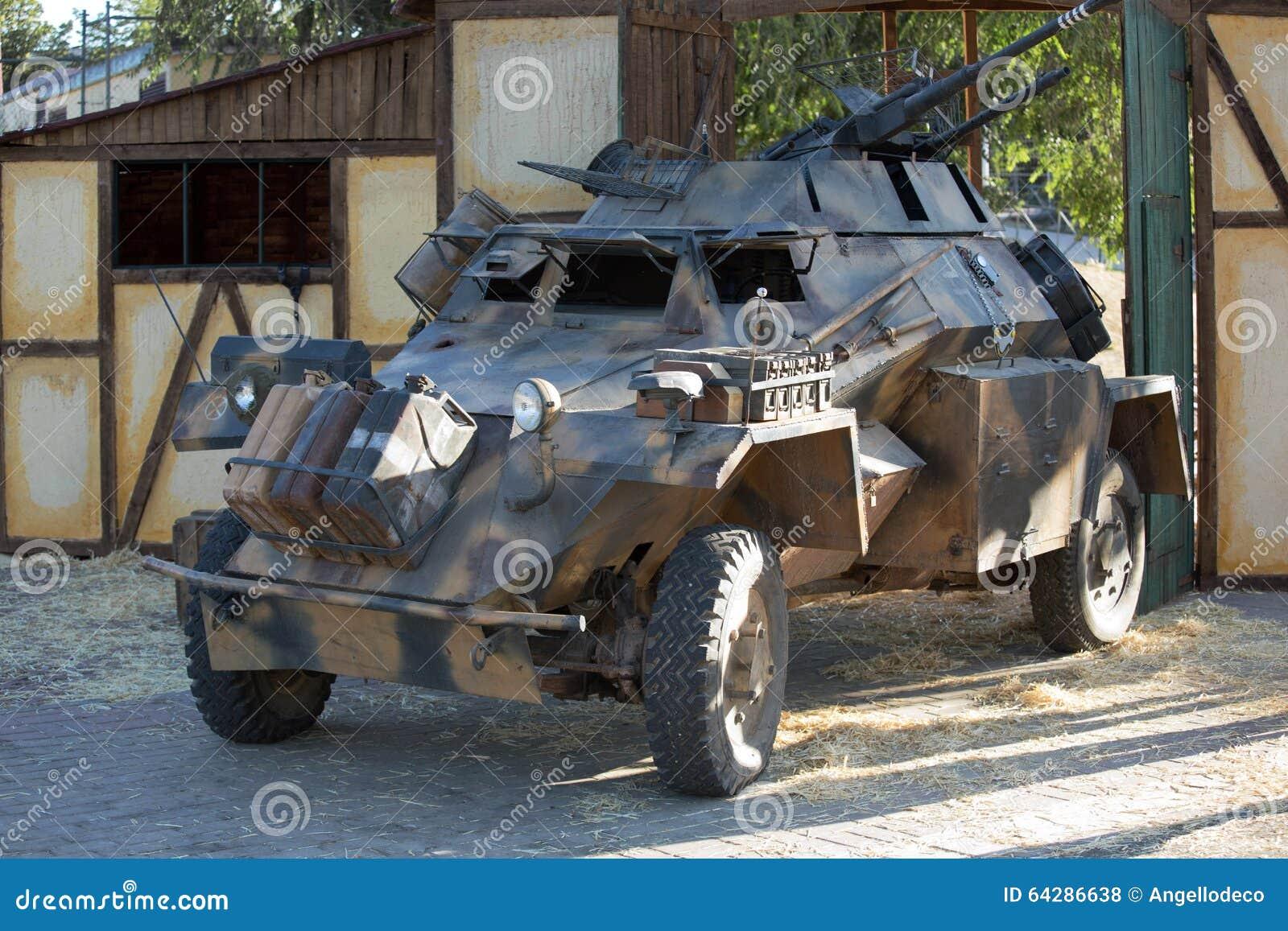 sdkfz 222 v hicule militaire de la deuxi me guerre mondiale photo stock image 64286638. Black Bedroom Furniture Sets. Home Design Ideas