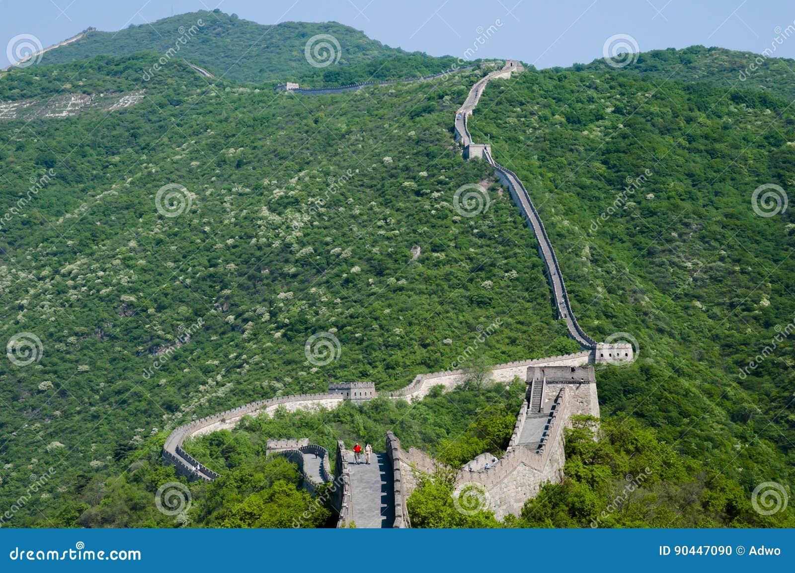 Seção de Mutianyu do Grande Muralha de China