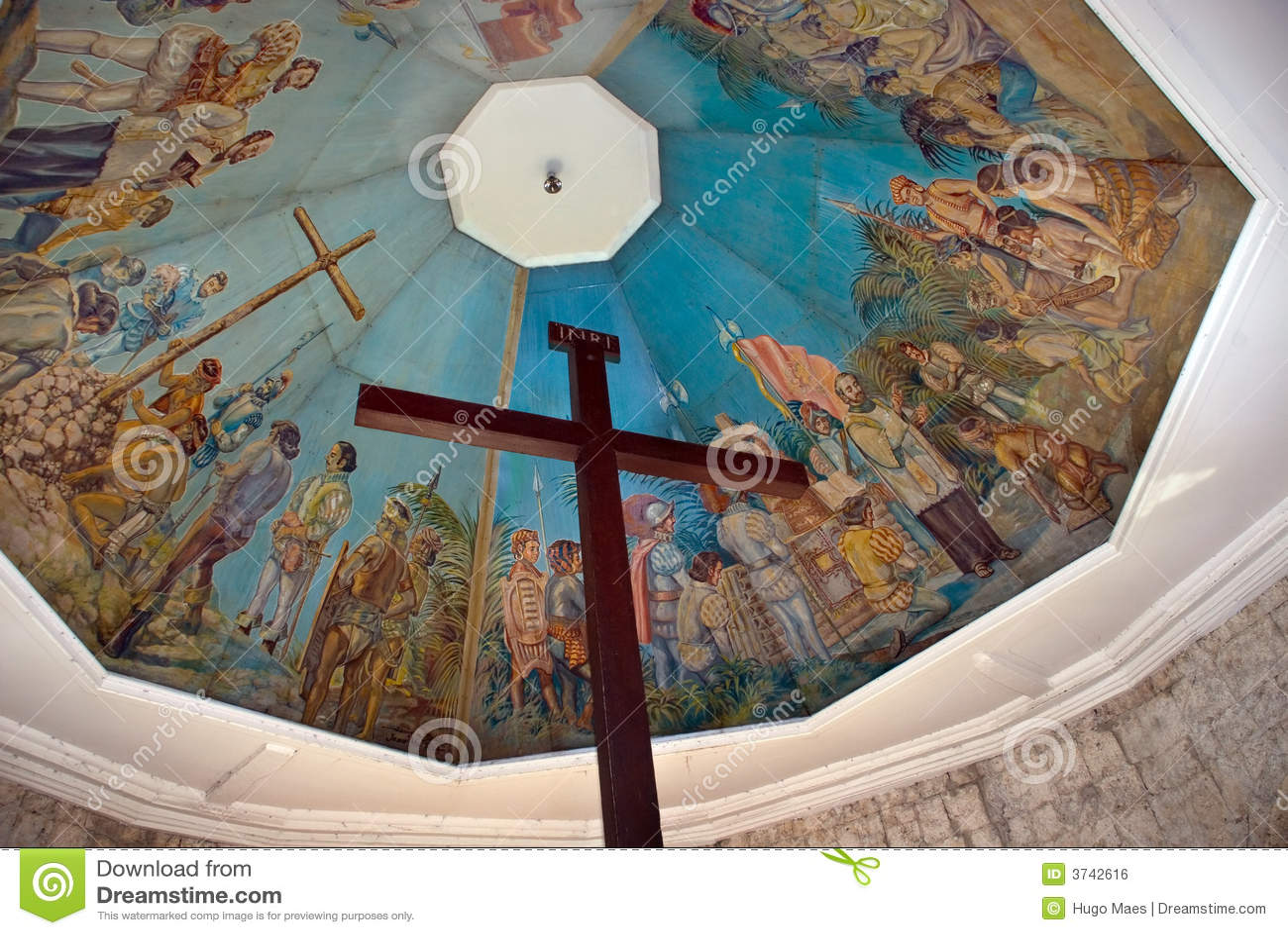 Señal histórica de Cebú: Cruz de Magellan