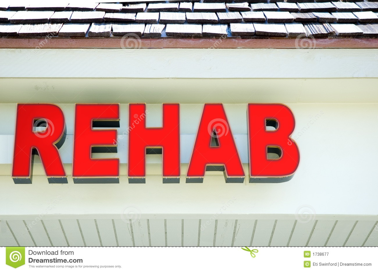 Señalización de la rehabilitación