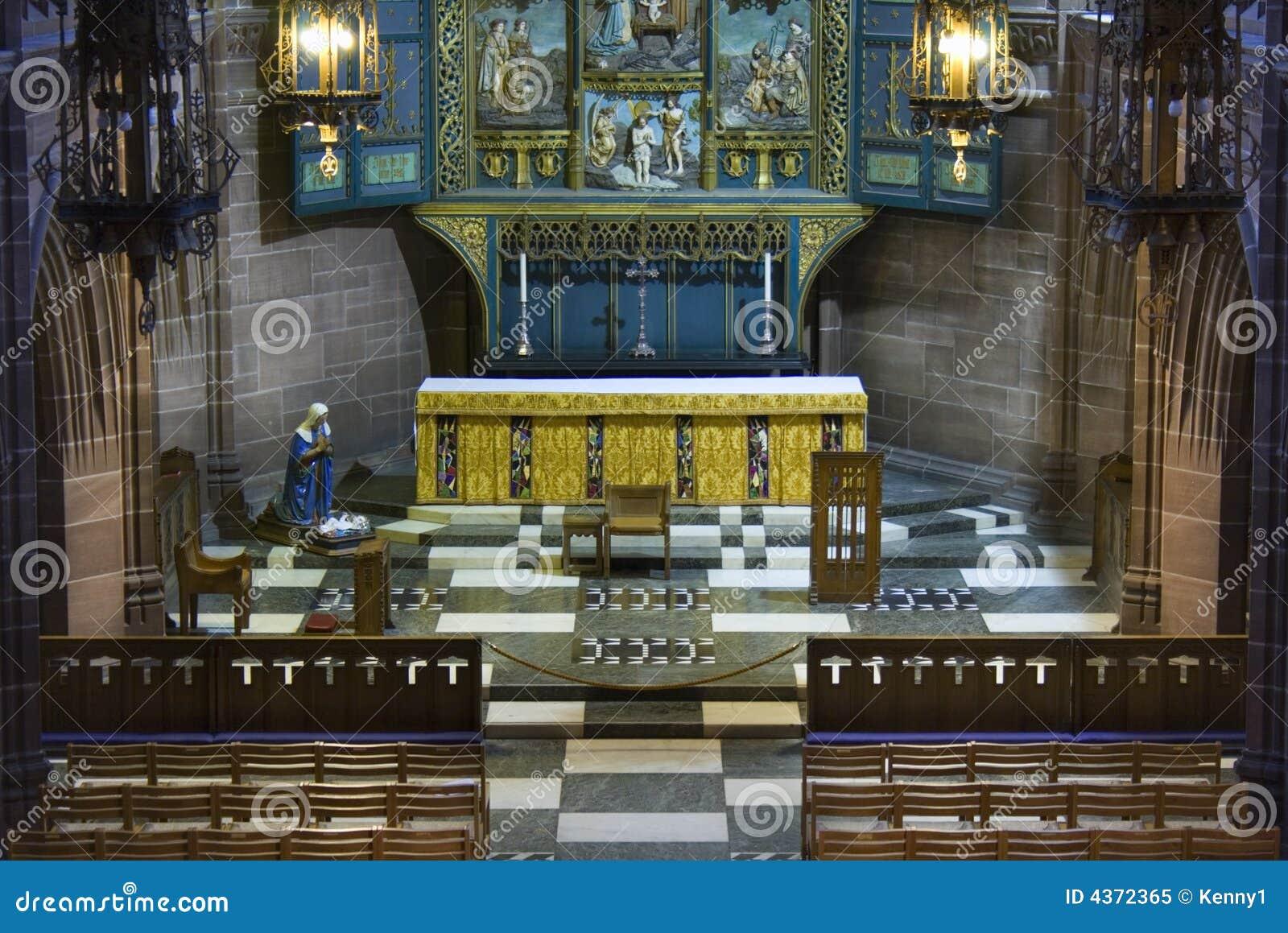 Señora capilla dentro de Liverpool C