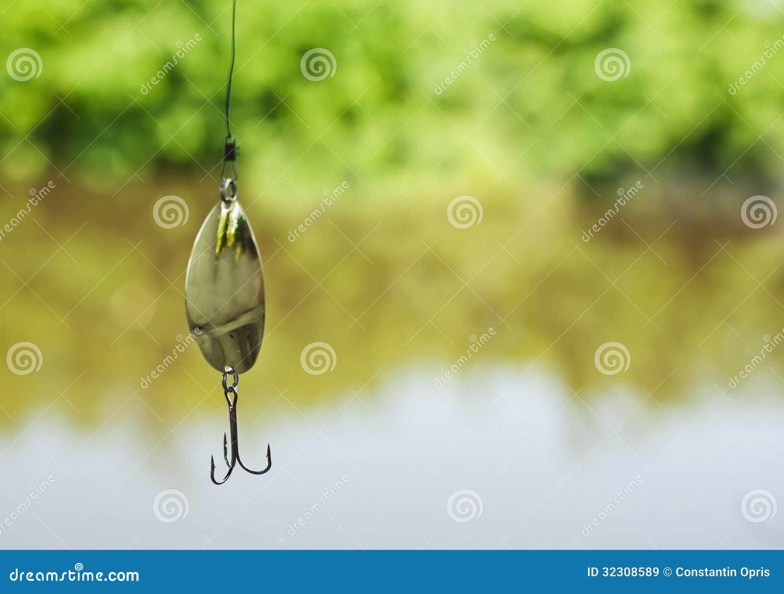 Señuelo de cuchara de la pesca del metal
