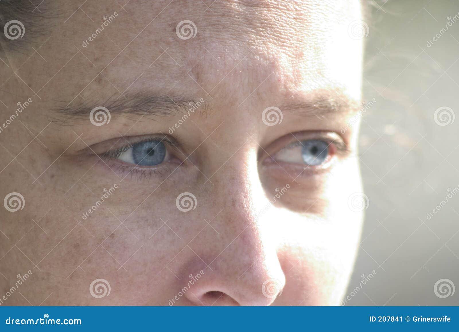 Se för blåa ögon