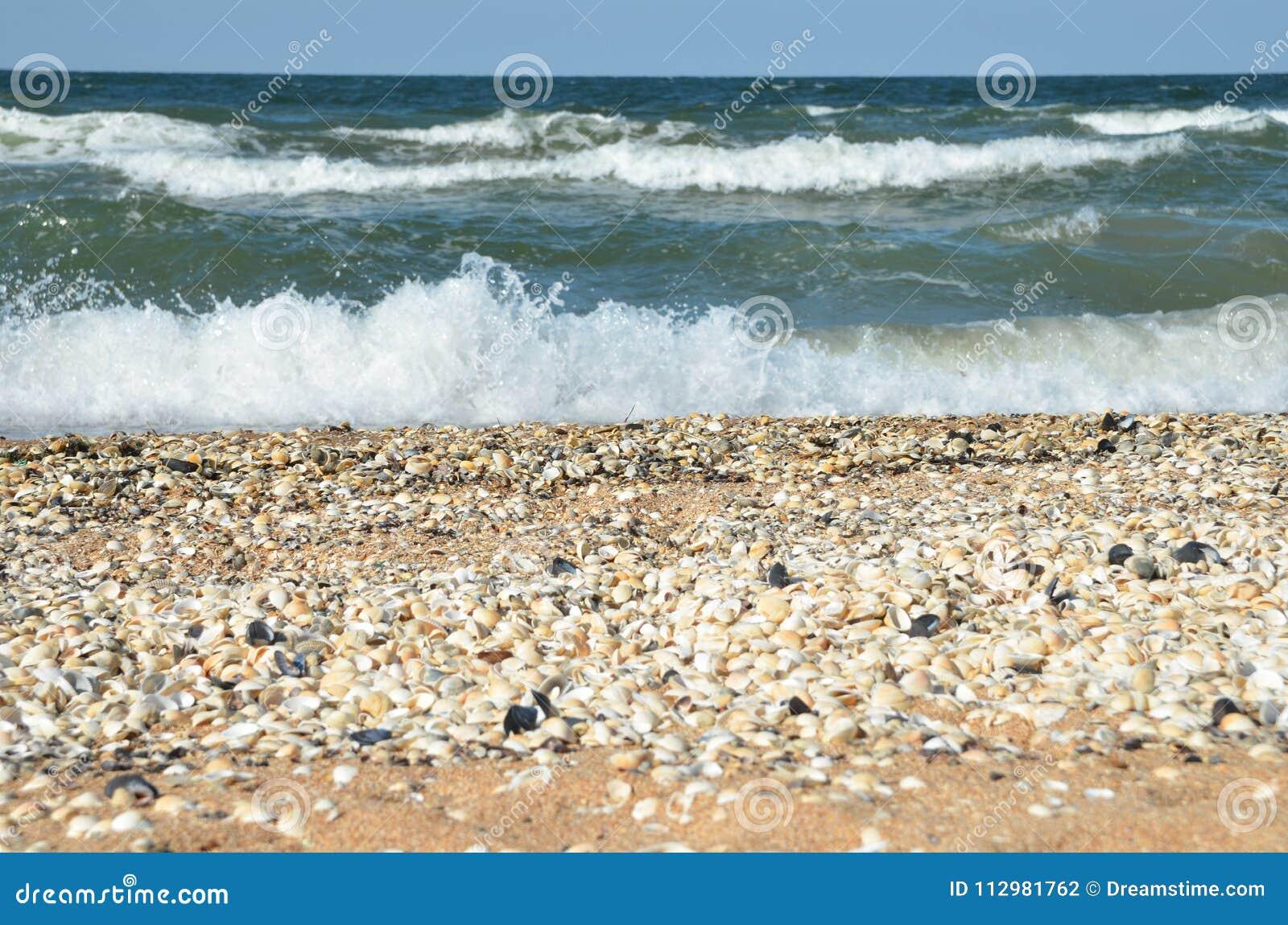 Sea of Azov in Crimea