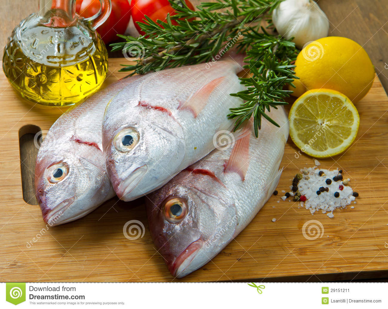 Sea Bream Stock Image - Image: 29151211