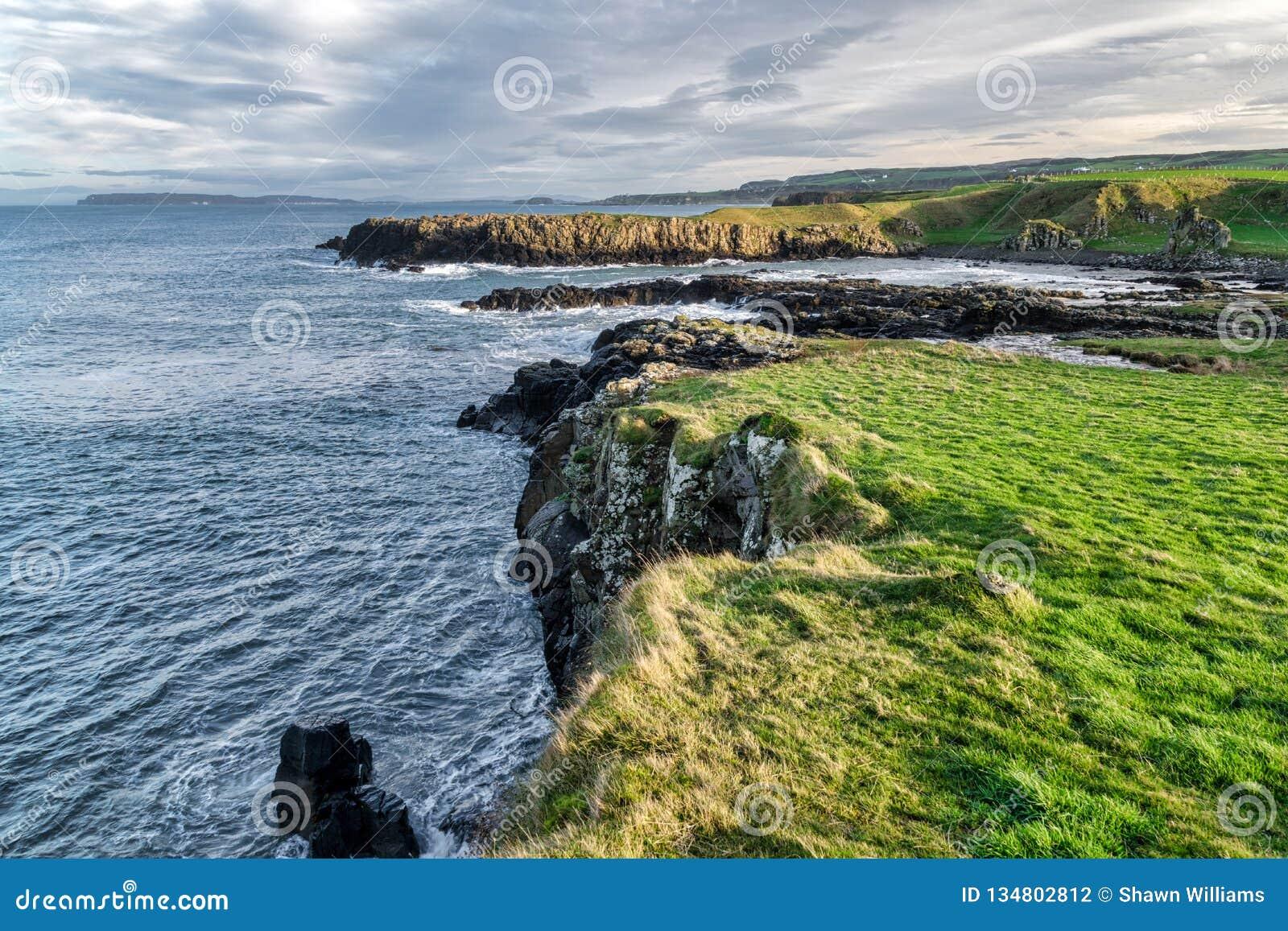 Cliff on the Antrim Coast