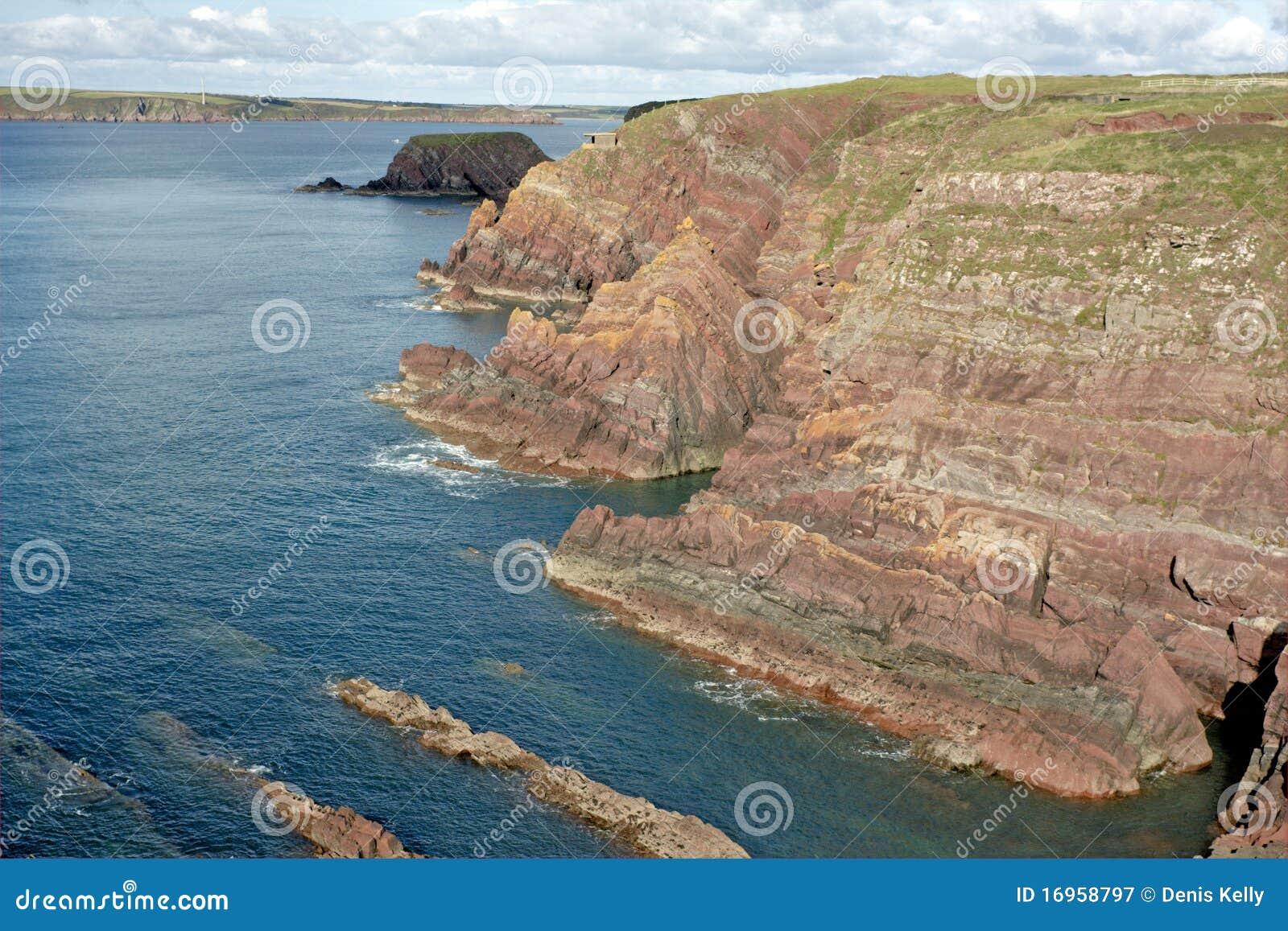 Sea Cliffs in Wales