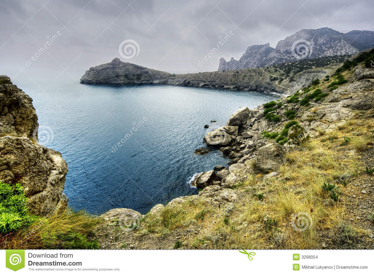 Stock images sea coast in crimea