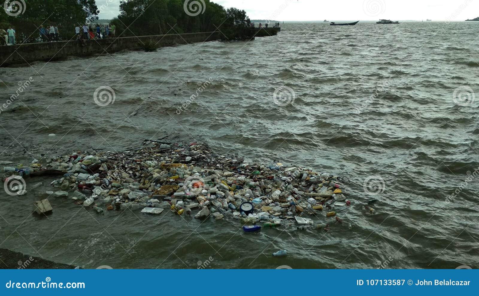 Sea contamination