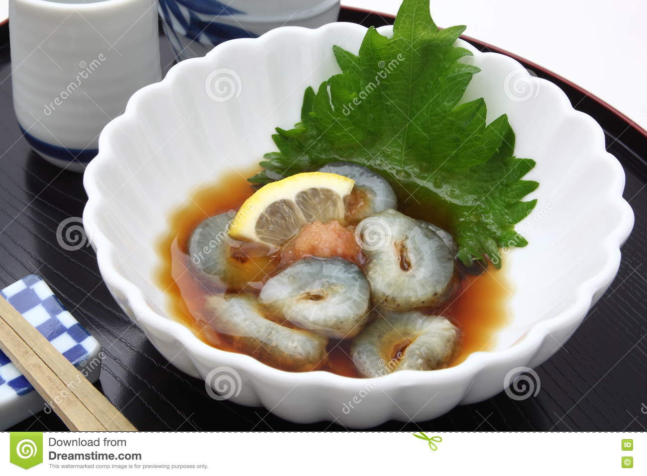 Sea Cucumber With Vinegar, Japanese ...