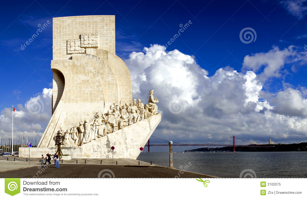Sea-Discoveries monument in Lisbon, Portugal.