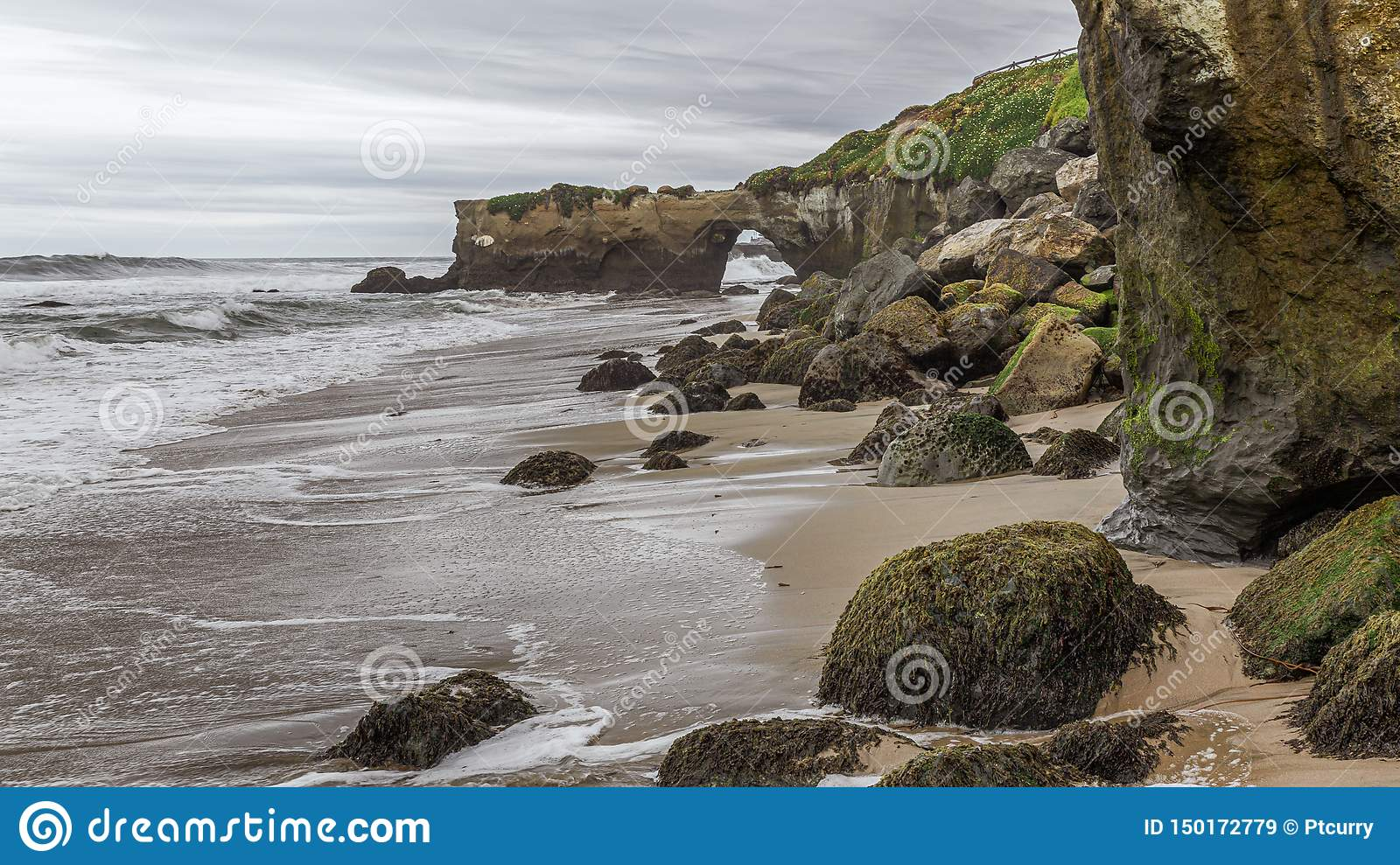 Sea Erosion, Rocks and Sand