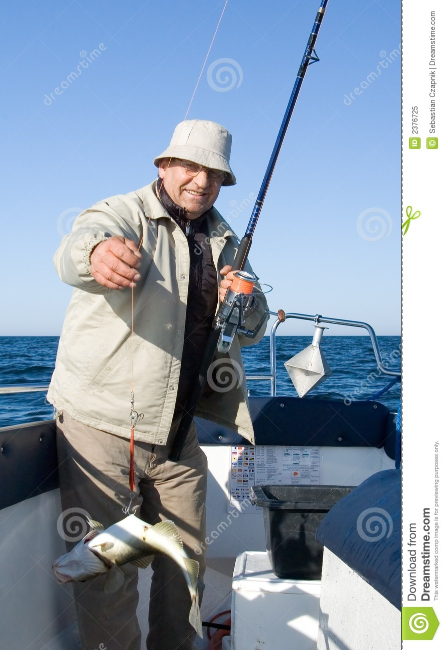 Sea fishing.