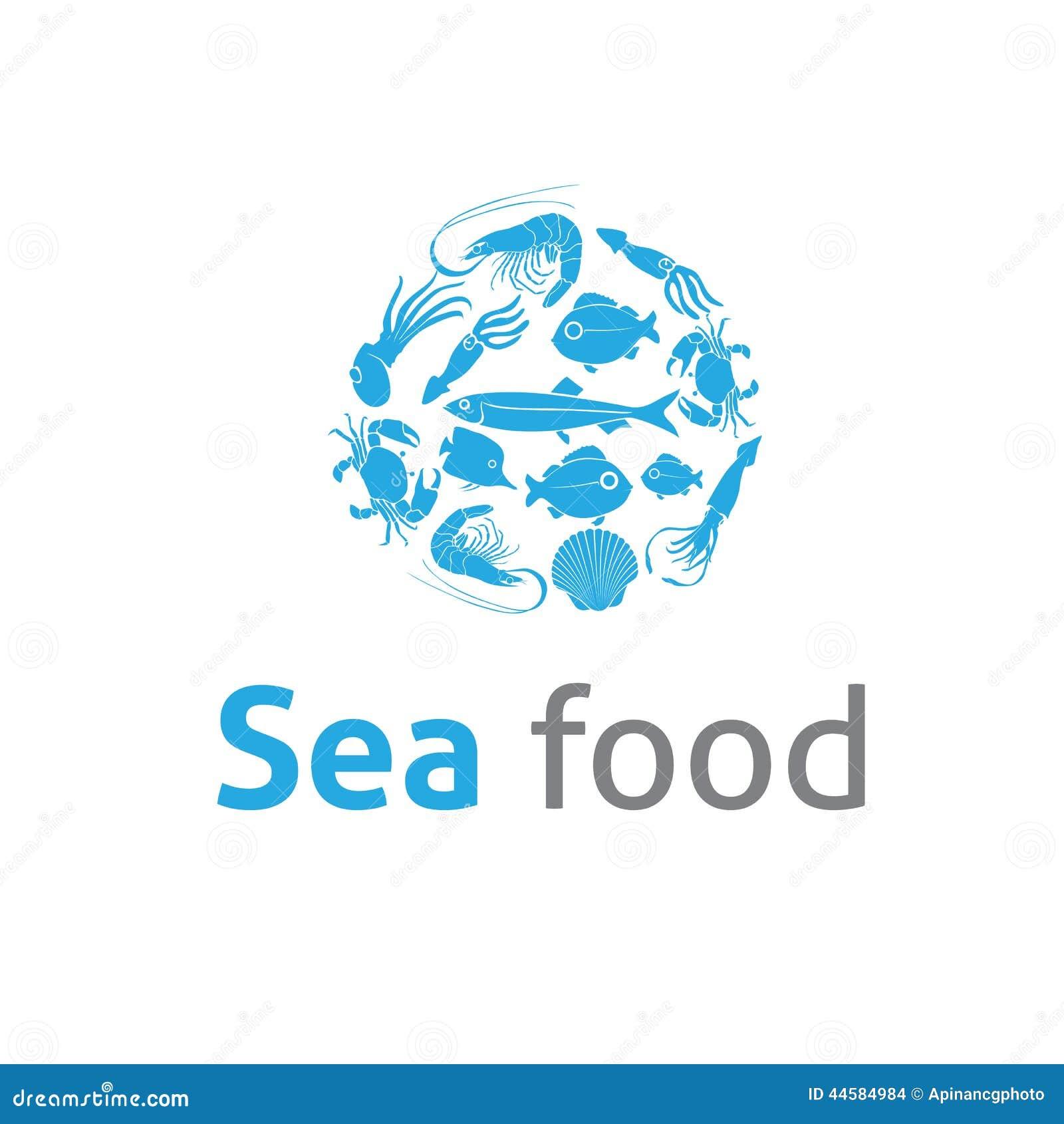 sea food restaurants logo vector template stock vector illustration of seafood  shrimp 44584984 crab vector art crab vector silhouette