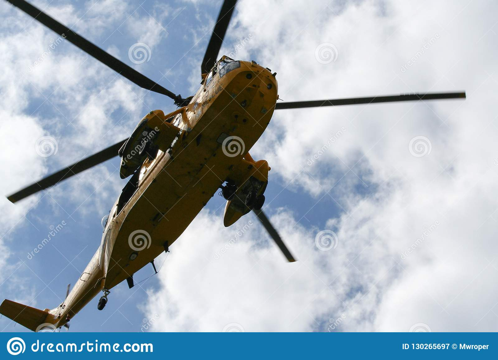 Sea King ratuneku i rewizji helikopter