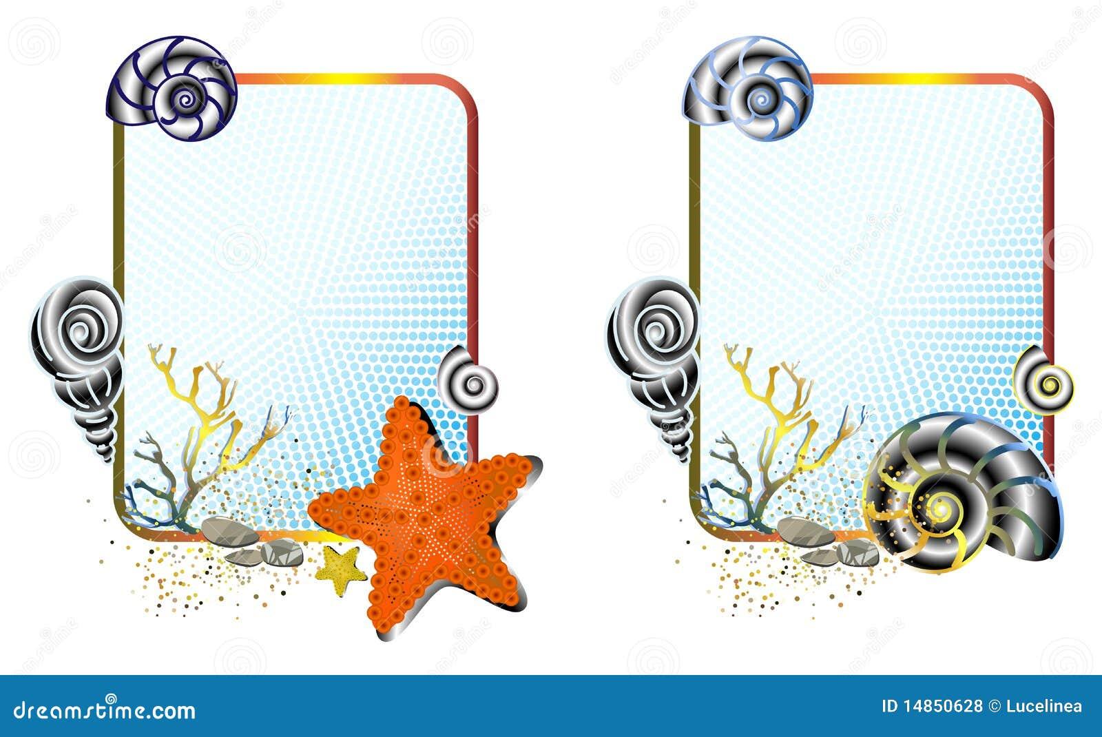Sea Life Frames