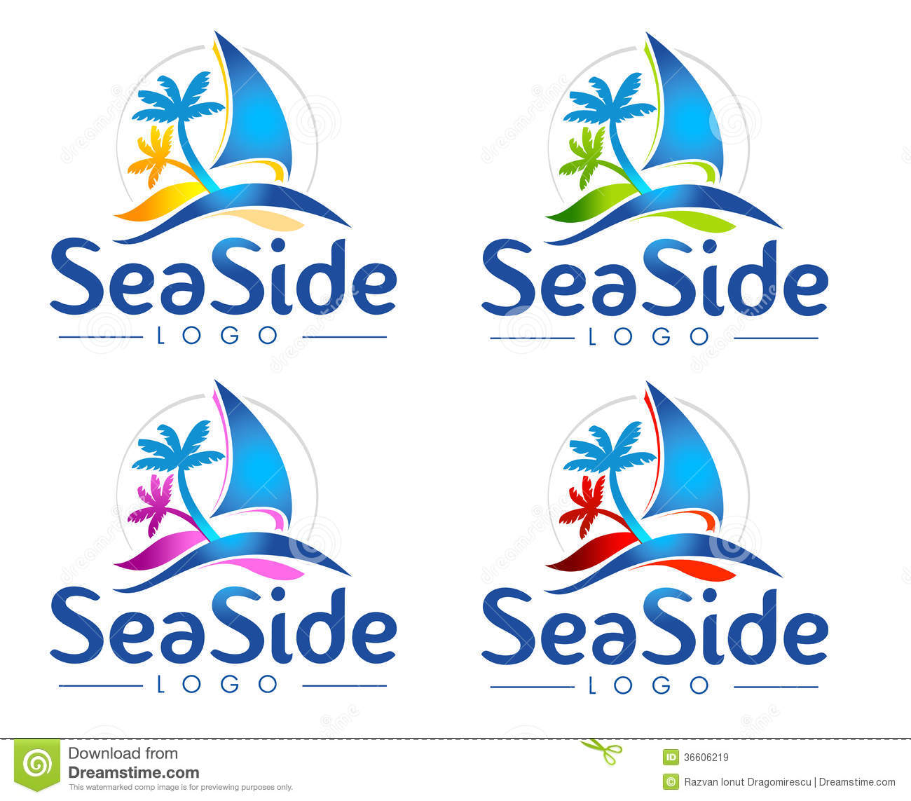 Sea Logo Royalty Free Stock Images - Image: 36606219