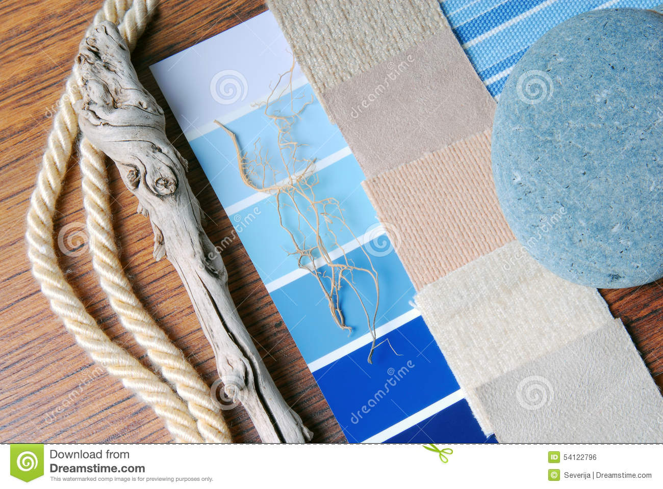 Sea and marina style concept stock photo image 54122796 for Colorful concepts interior design