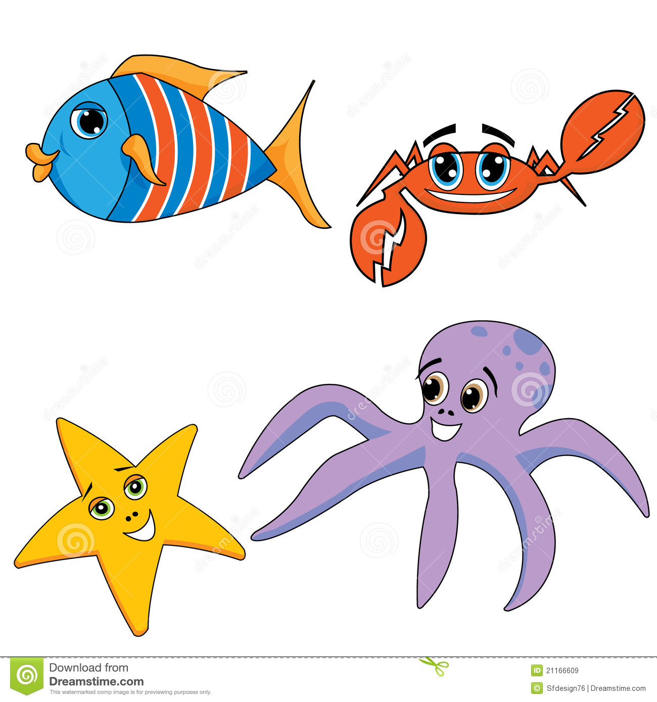 sea ocean animals royalty free stock images image 21166609