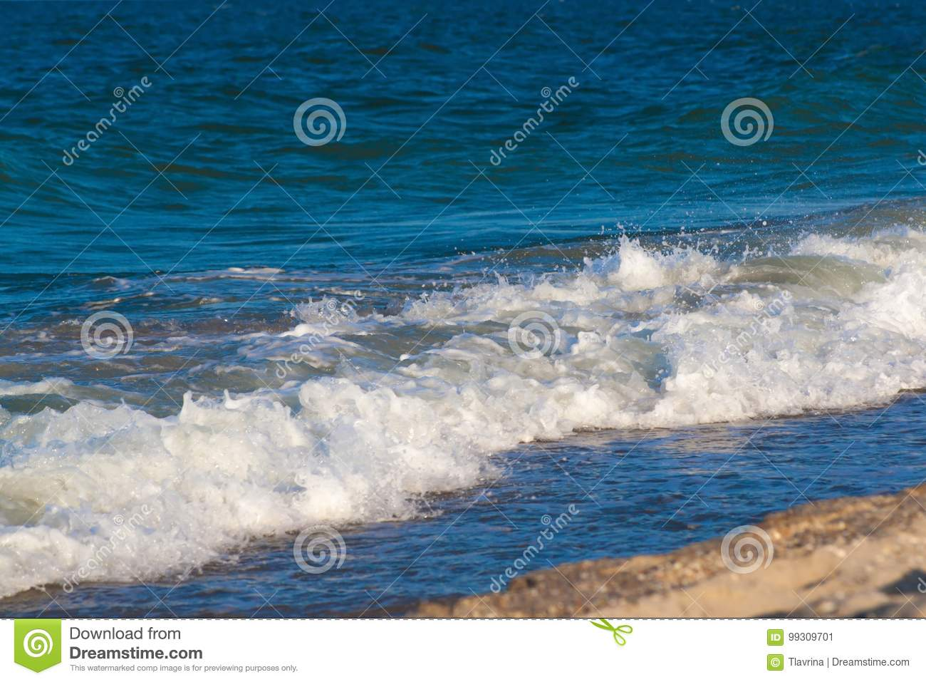 sea ocean waves background with turquoise water stock image image