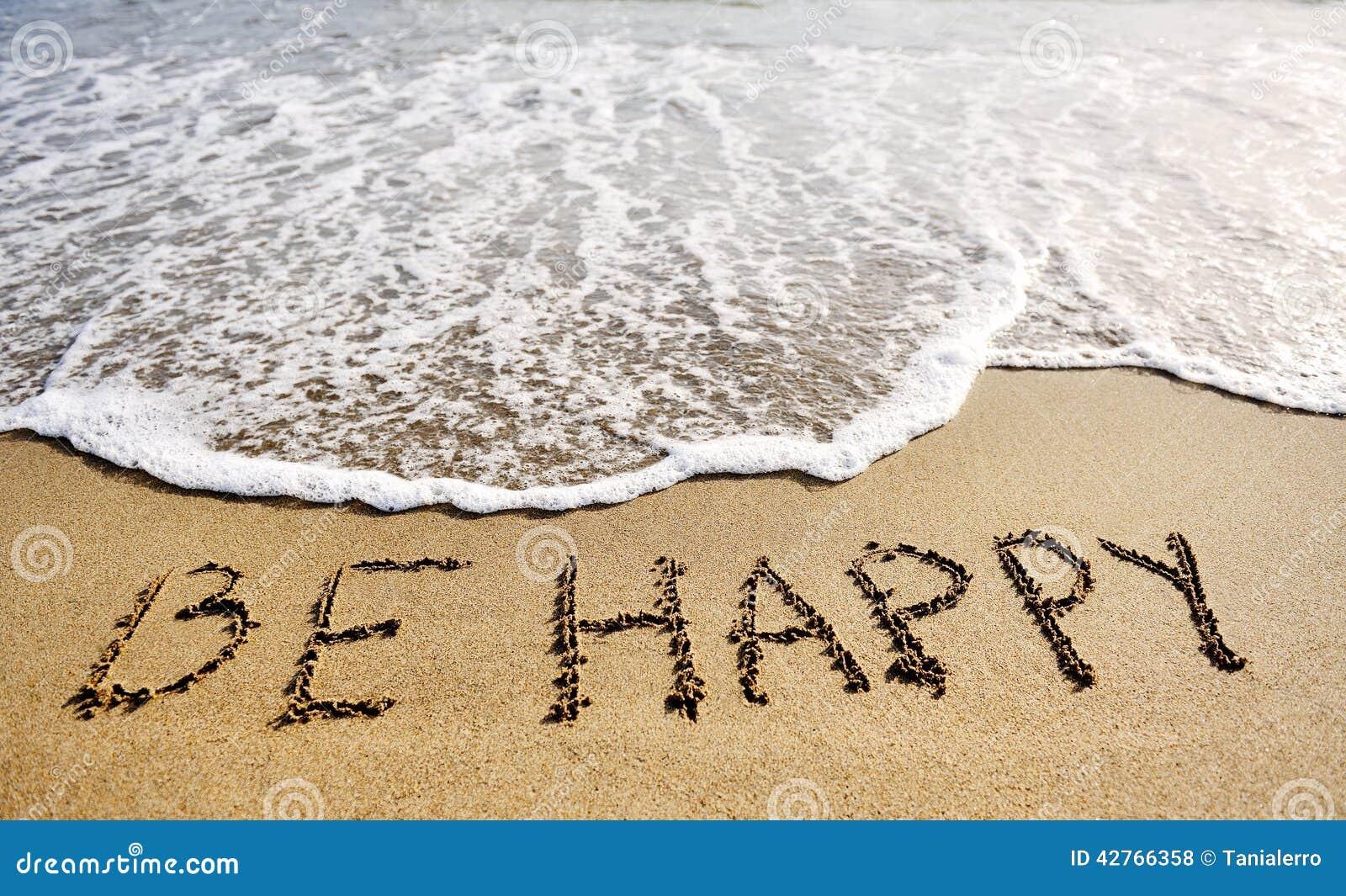 Te Amo Escrito En La Arena Imagen De Archivo Imagen De: Sea Palabras Felices Escritas En Concepto De Pensamiento