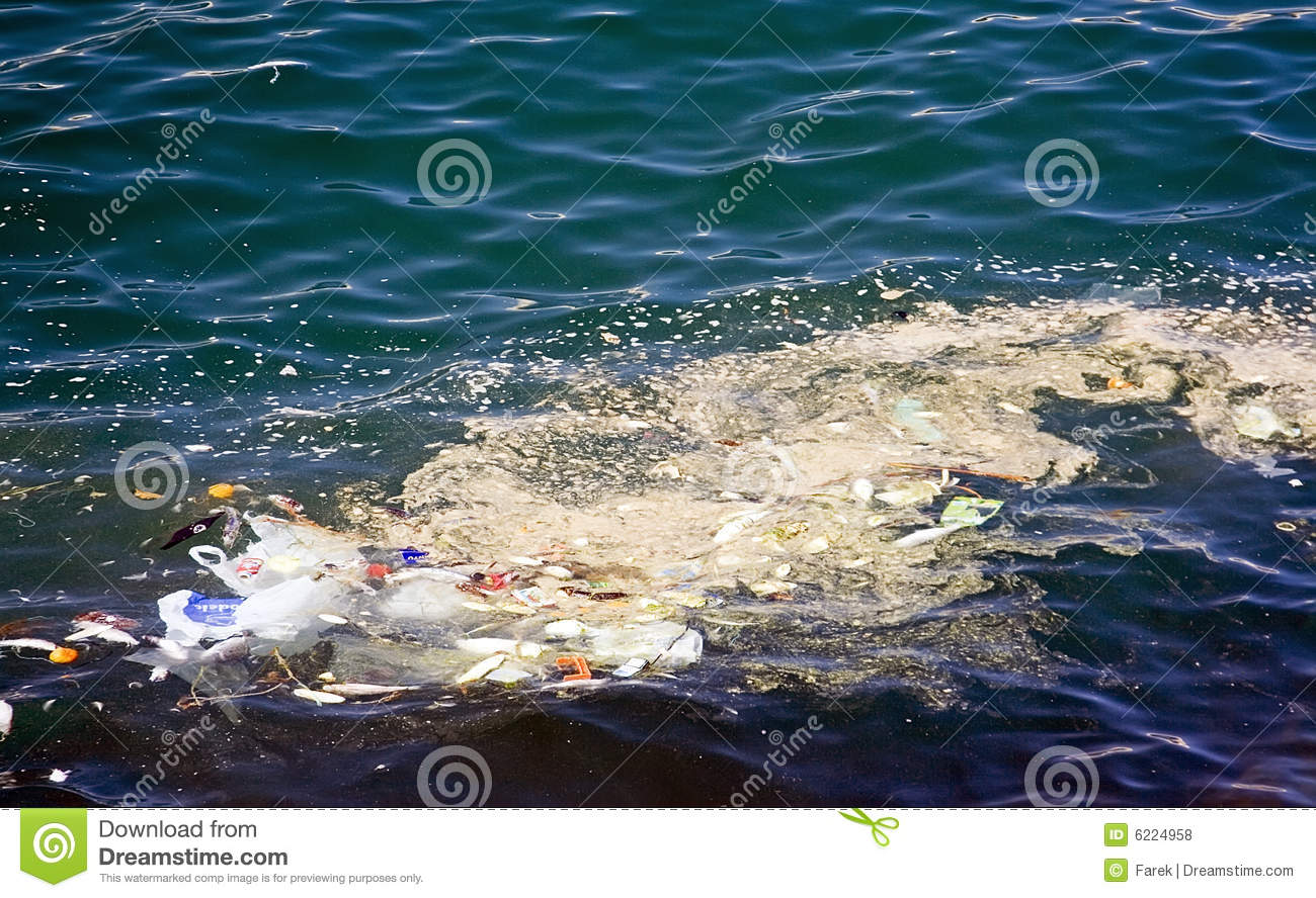 Sea Pollution Royalty Free Stock Photos - Image: 6224958