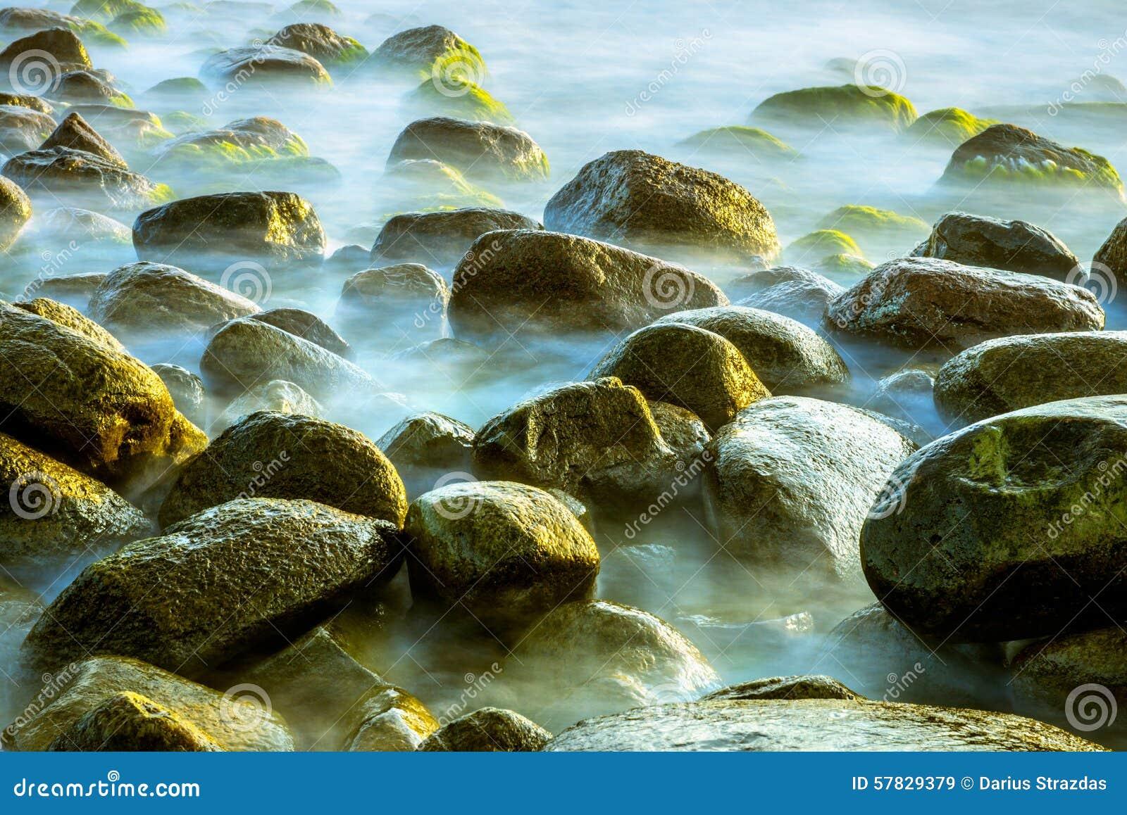 Sea scape with rocks