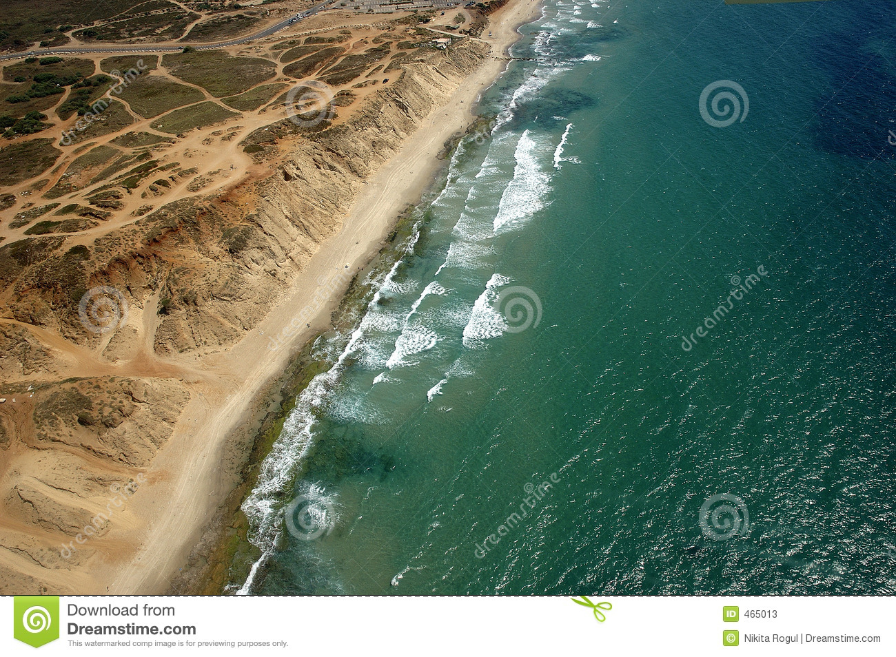 Download Sea shore stock image. Image of bird, hover, view, beach - 465013