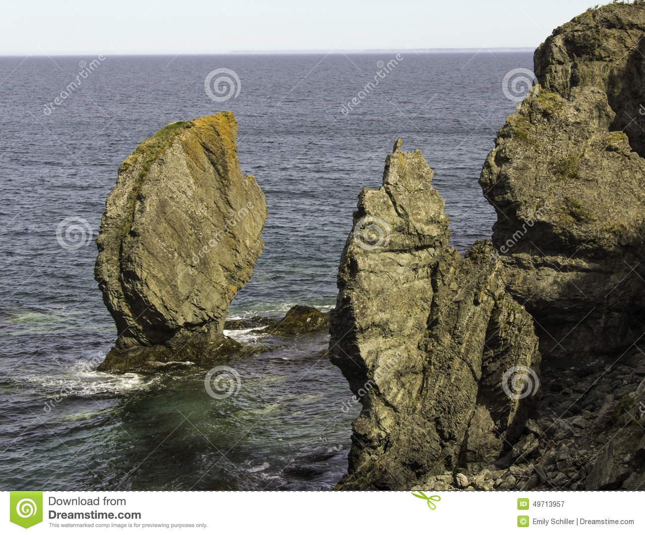 Sea Stacks On The Skerwink Trail Stock Photo - Image: 49713957