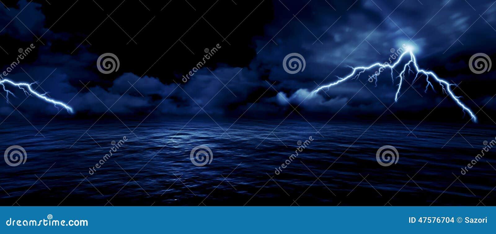 Sea Storm Stock Illustration Illustration Of Natural 47576704