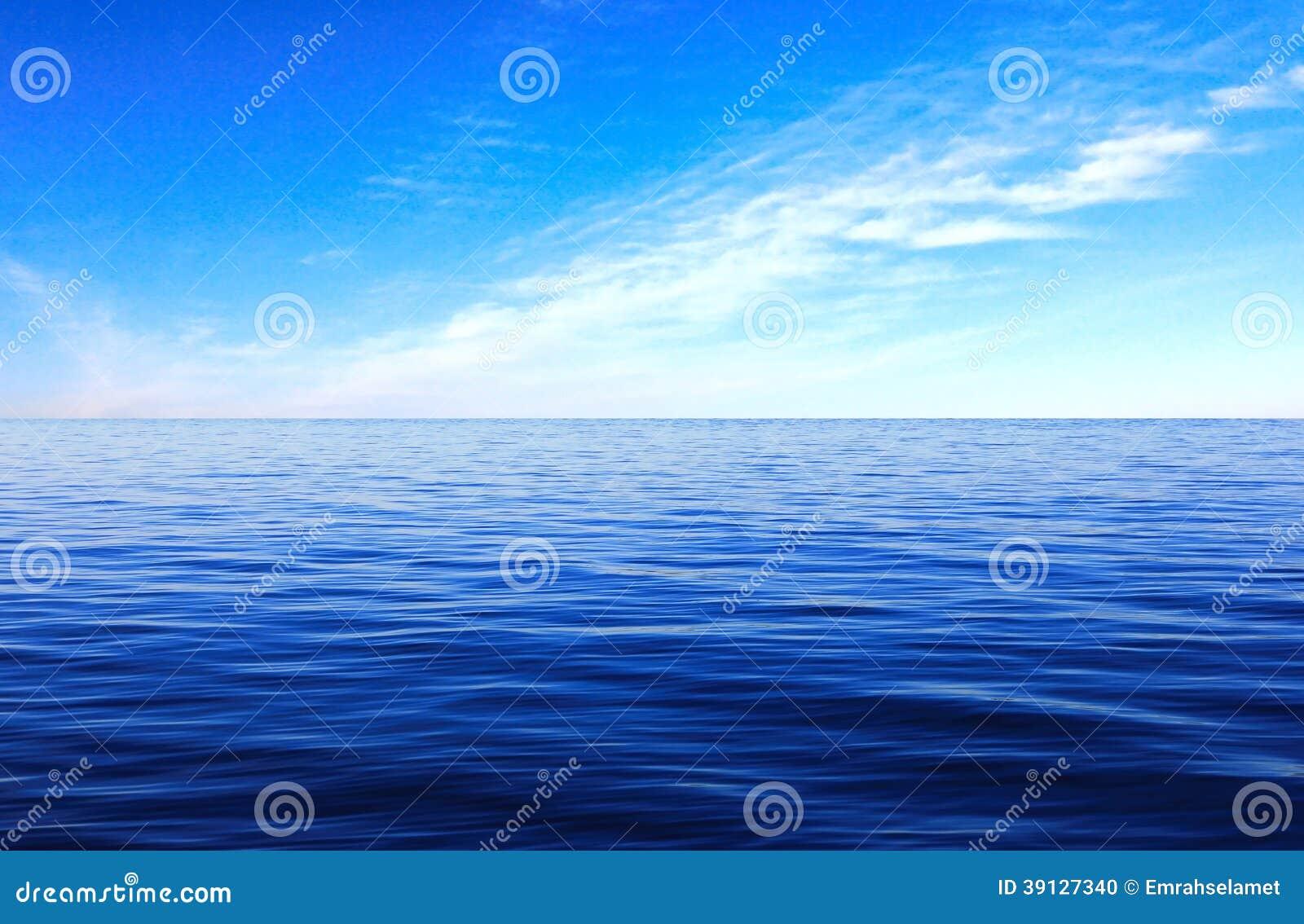 Sea Surface cloud sky