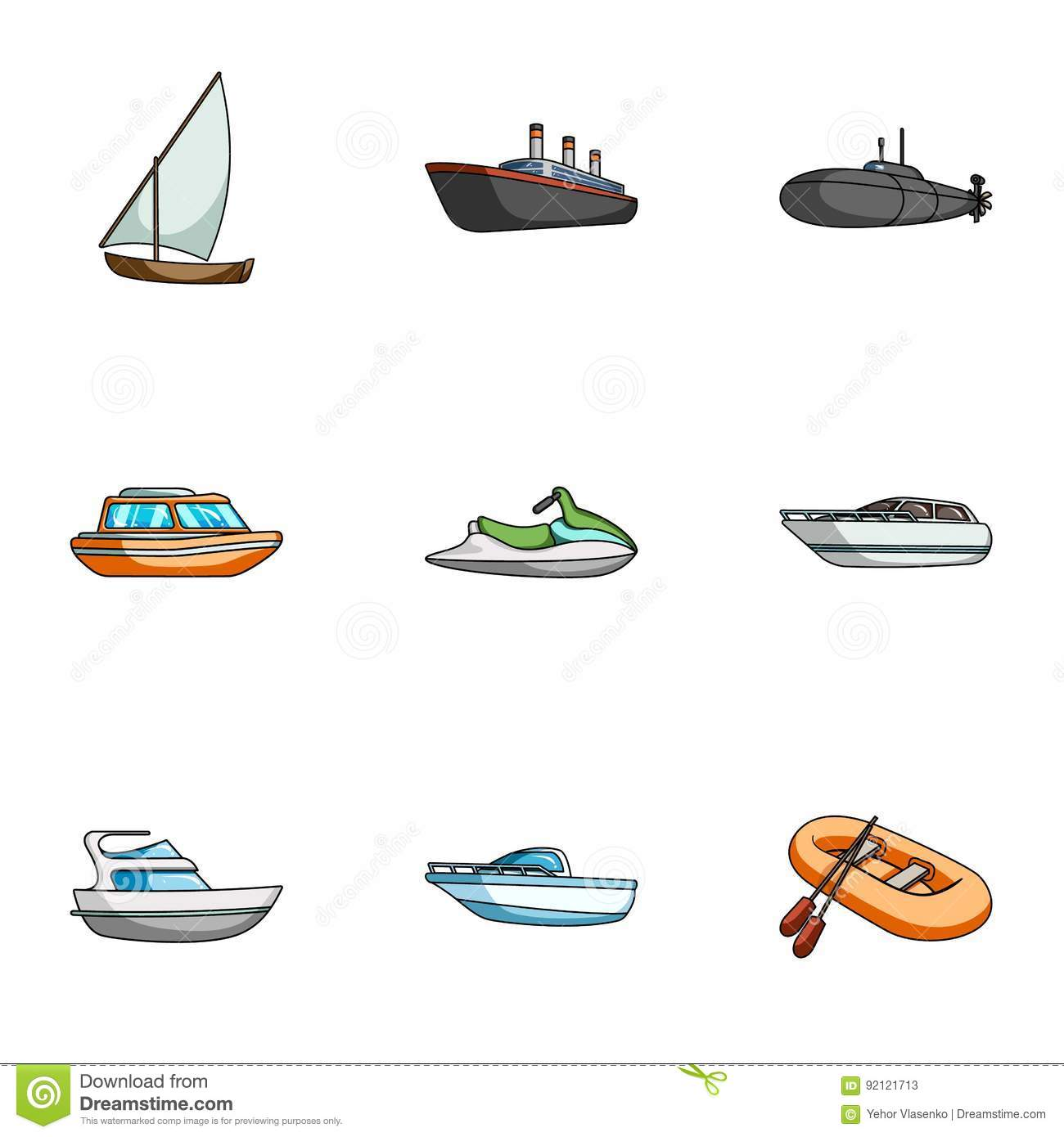 Sea Transport, Boats, Ships. To Transport People ...