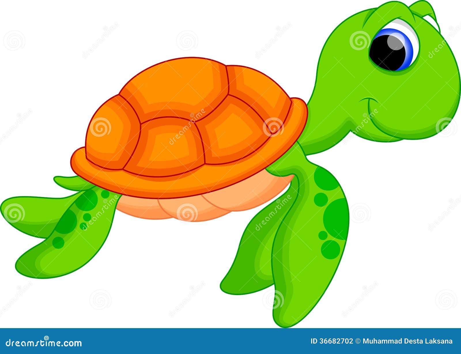 Cute animated sea turtles - photo#2
