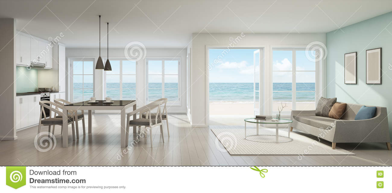 14 Seat Dining Table Images 10 Dining Table For 12 Seater  : sea view living room dining room kitchen beach house d rendering interior table sofa 78457023 from flowersaustralia.co size 1300 x 640 jpeg 75kB