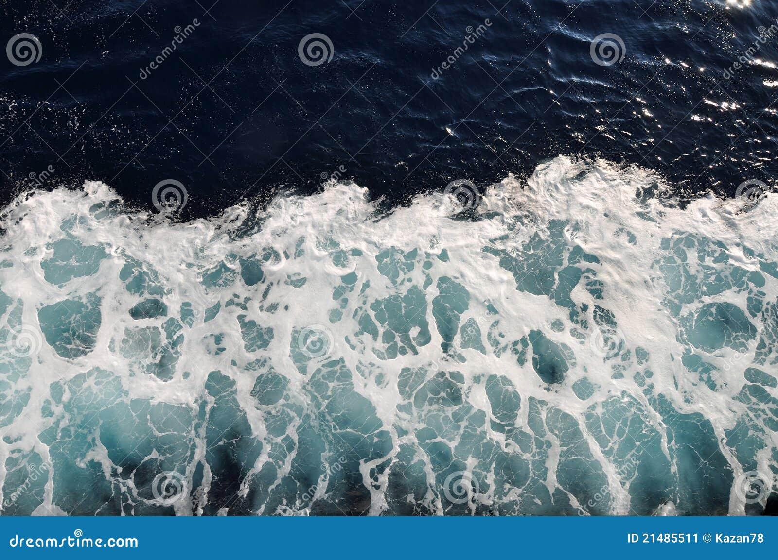 Sea water foam texture