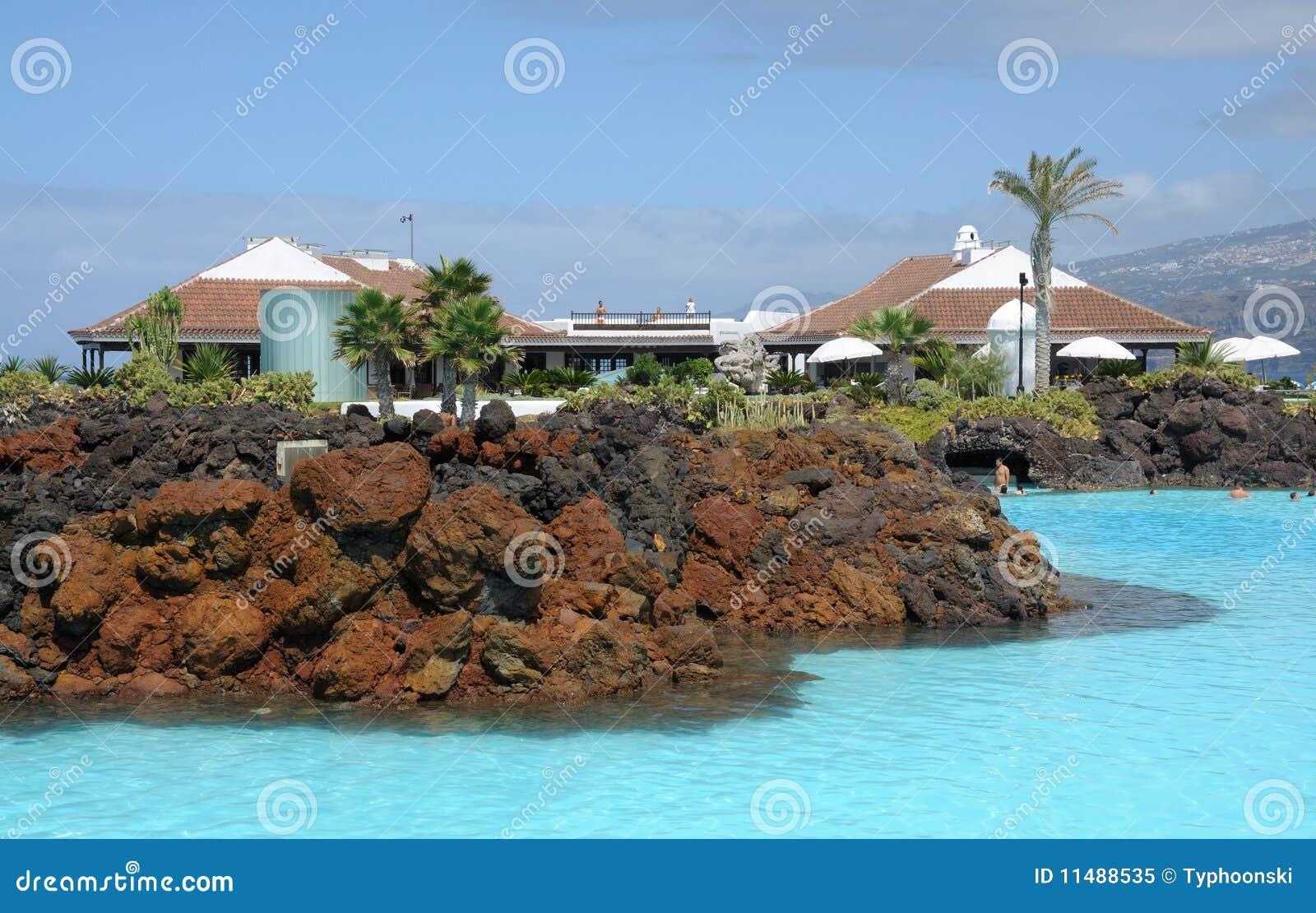 Sea-water pool complex, Tenerife