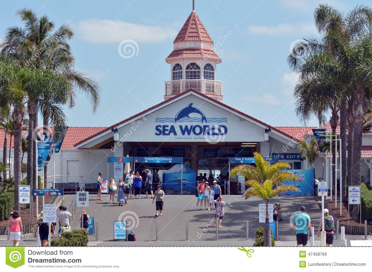 Sea World Gold Coast Queensland Australia Editorial Stock Image ...