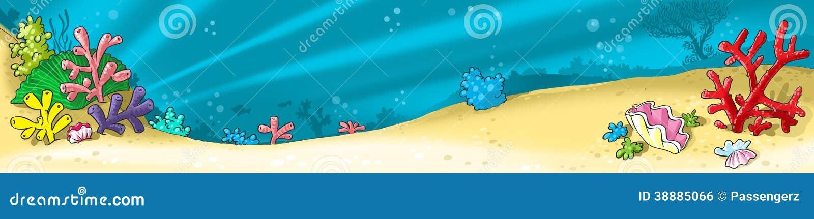 sea bed beach vector - photo #26