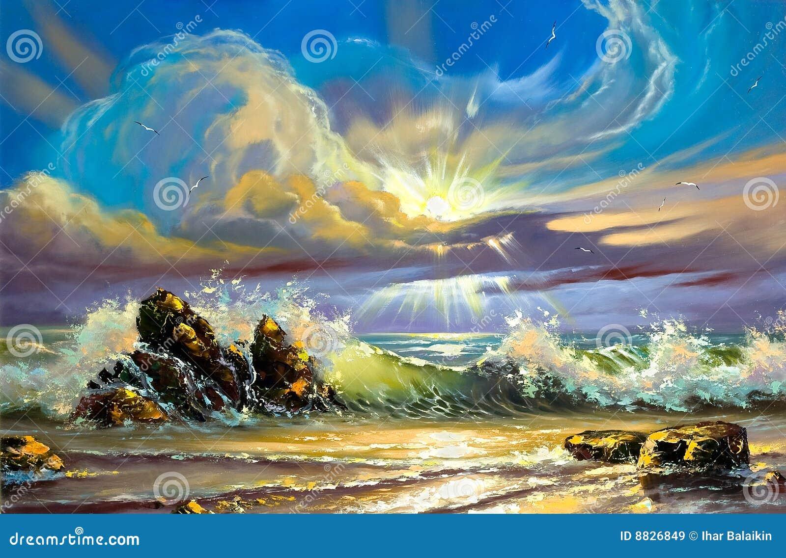 Seacoast ηλιοβασίλεμα