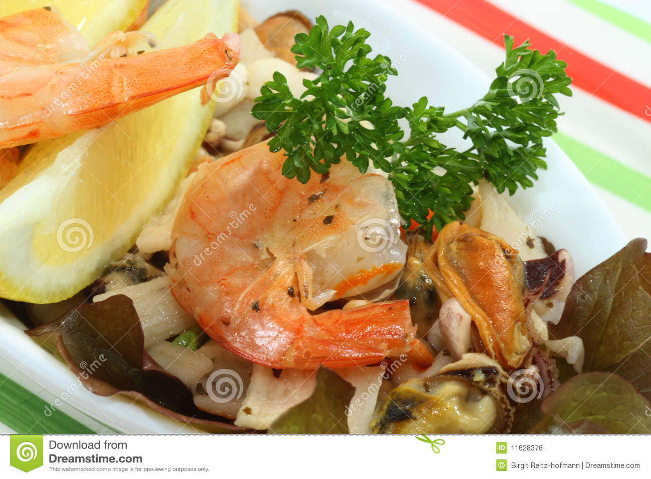 Seafood Dinner Royalty Free Stock Image - Image: 11628376