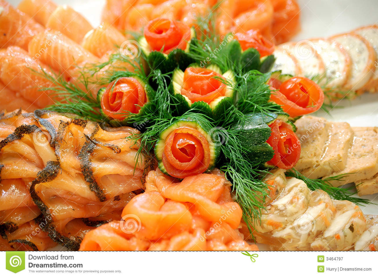 Seafood Dish Royalty Free Stock Photography - Image: 3464797