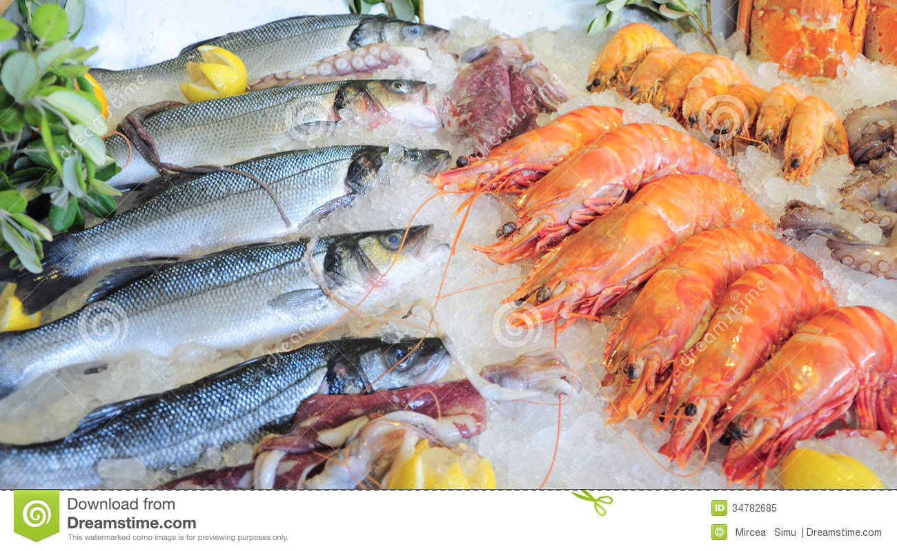 Seafood royalty free stock photo image 34782685 for Fish and seafood