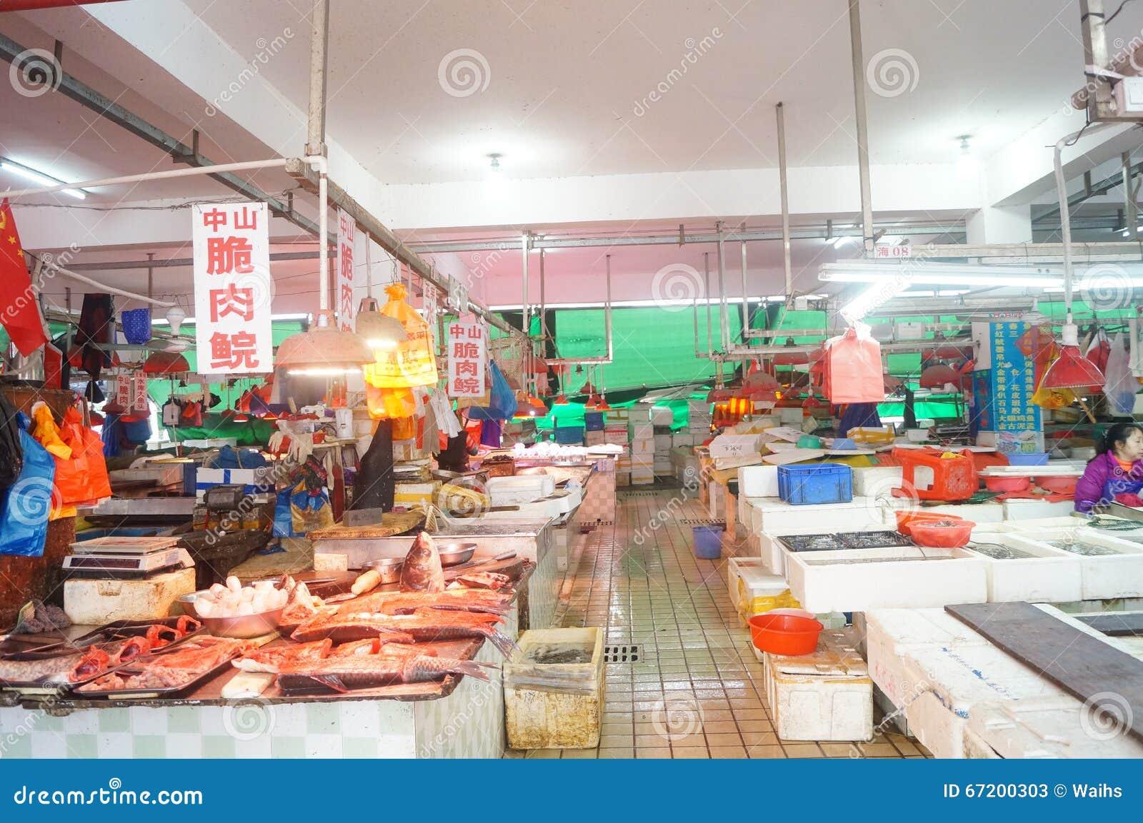 Fresh Fish, Meat & Dairy