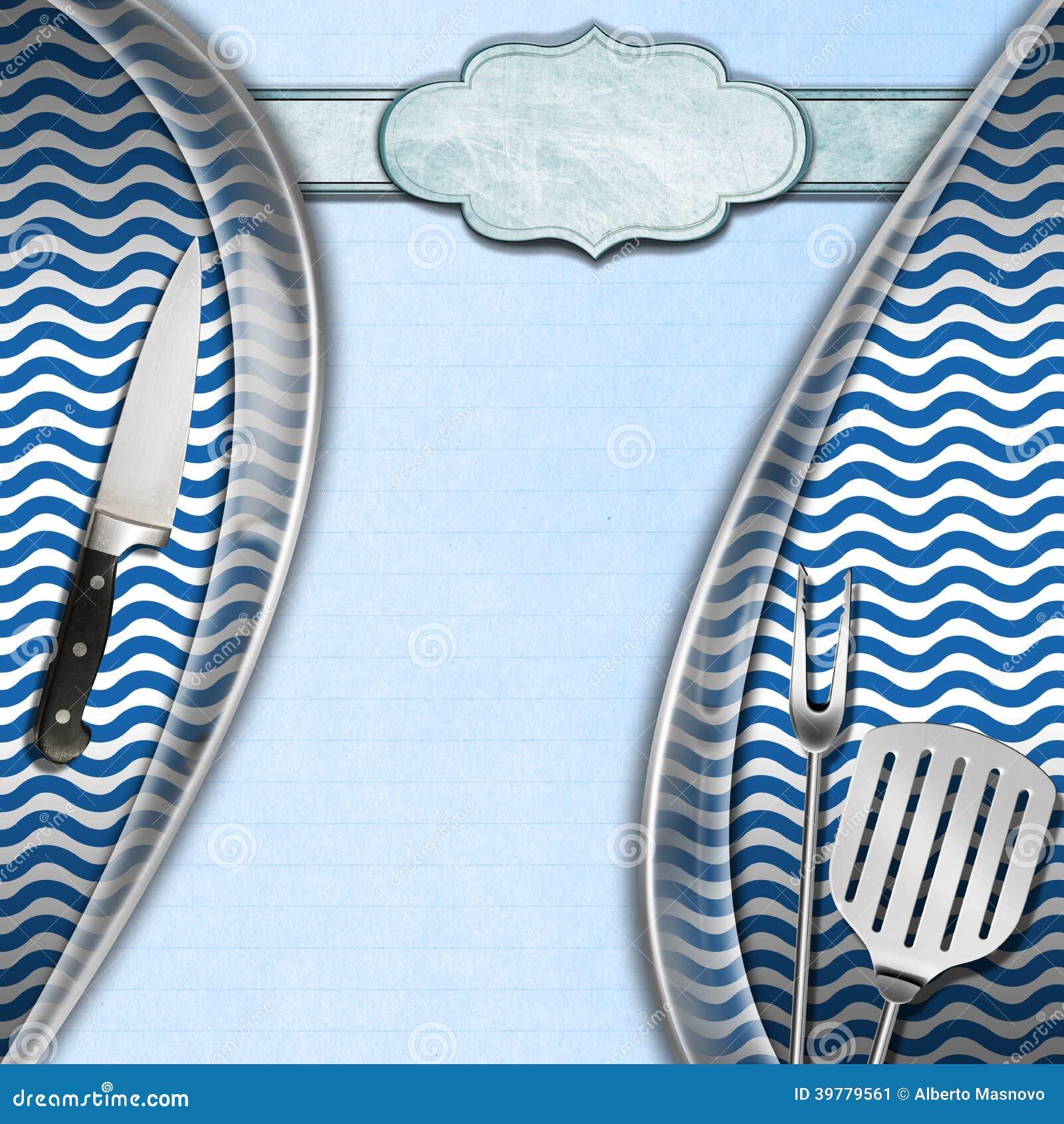 Seafood Menu Template Stock Illustration Image 39779561